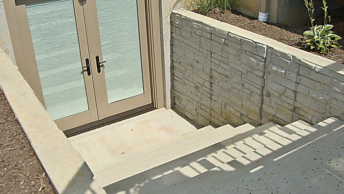 Outsideentry2kavanaugh basement exit options for Adding exterior basement entry
