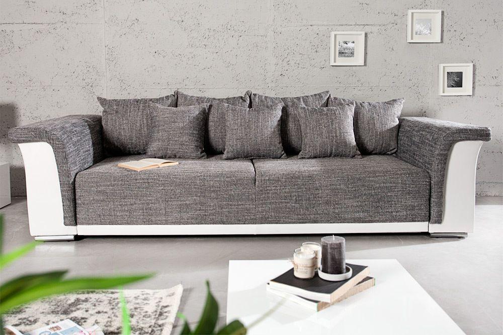 JVmoebel - Ledersofa Couch Sofa Ecksofa Modell Berlin IV U-Form ...