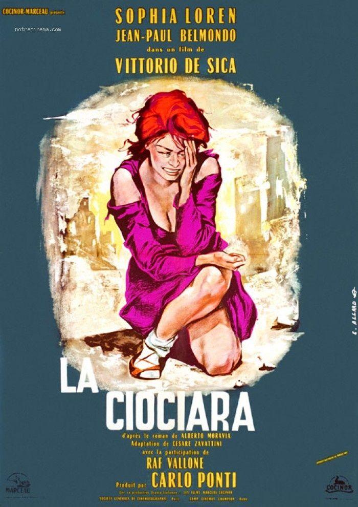 1960 Meilleure Actrice Etrangère Sophia LOREN Affiche de
