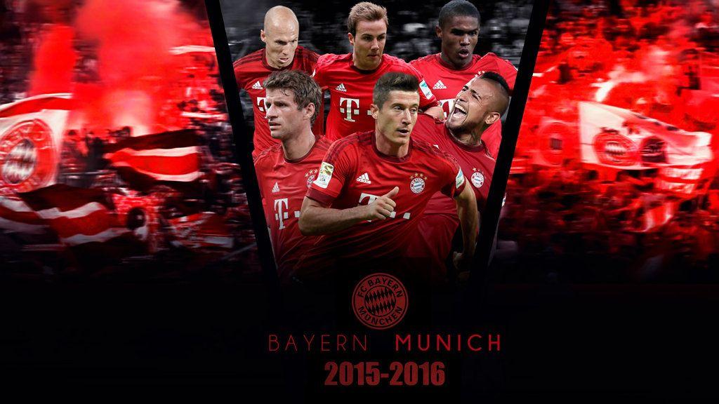 2016 bundesliga wallpaper | Bayern Munich 2015/2016 Wallpaper by RakaGFX on DeviantArt