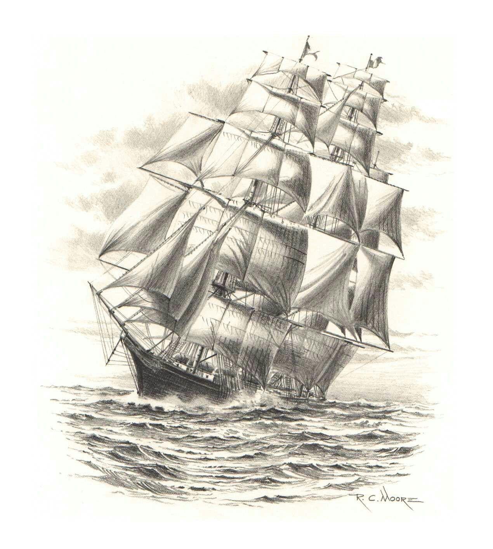 Segelschiff bleistiftzeichnung  Pin von Jennefe Corrêa auf Design realistic e design realistic ...
