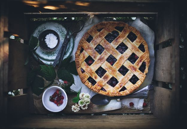 Call me cupcake: The best berry pie