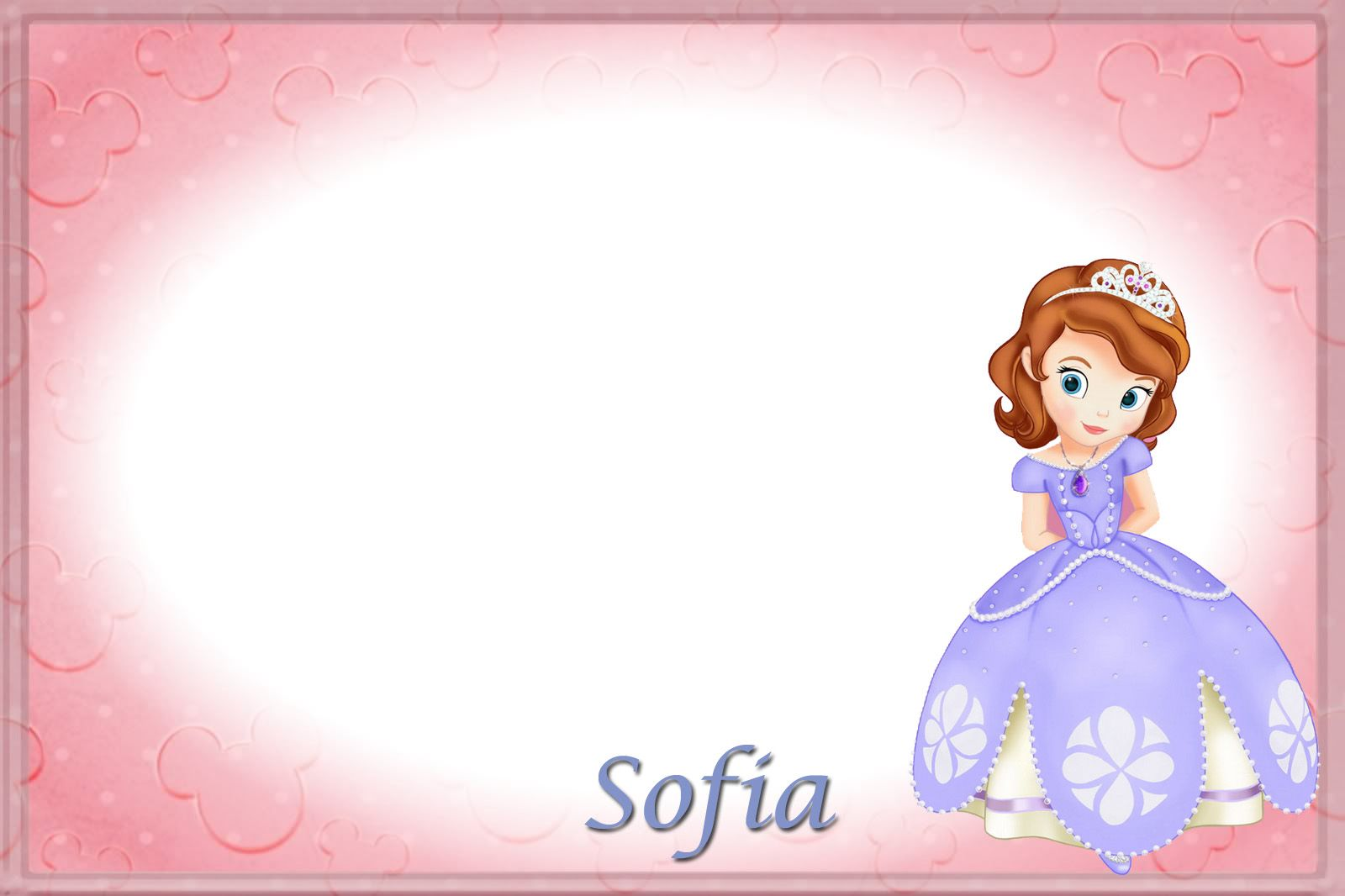 Sofia The First Autograph Page | Disney | Pinterest | Disney ...