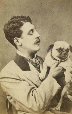 10 Very Peculiar Victorian Pet Portraits Pug Photos Cute Pugs