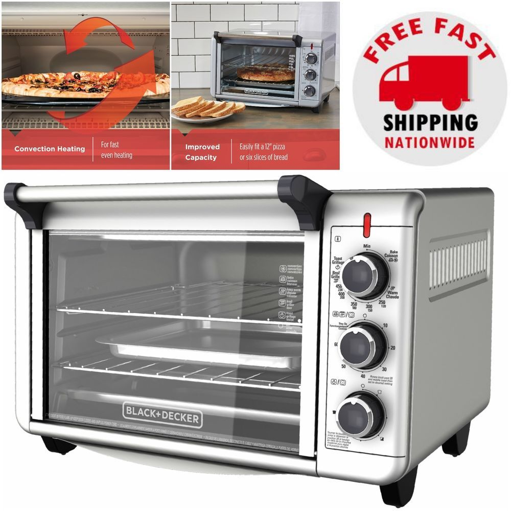 Details About Countertop Convection Oven Pizza Toaster Cooking Baking Broiler Roasting Kitchen With Images Countertop Convection Oven Kitchen Oven Convection