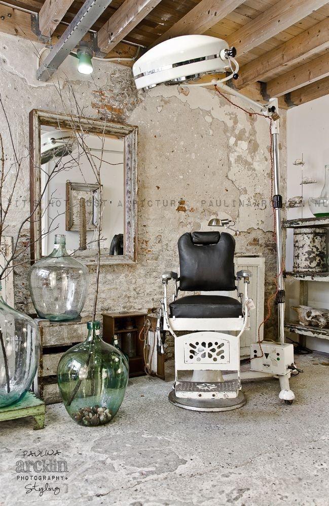 Barber Chairs Vintage Hair Salon Interior Hair Salon Decor Salon Interior Design