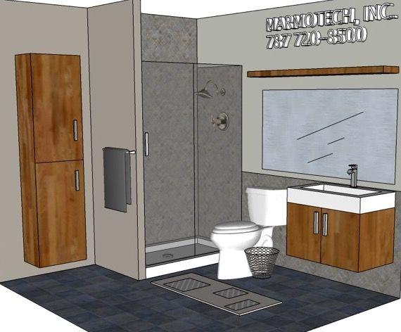 Pin de Baños Marmotech en BATHROOM: 7x8
