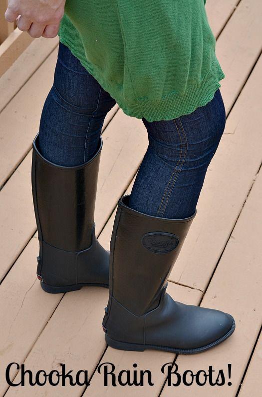 chooka rain boots from @Street Moda #client #fallfashion