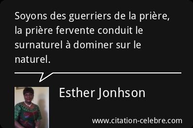 Citation Priere Naturel Soyons Esther Jonhson Phrase N 134552 Citation Priere Phrase