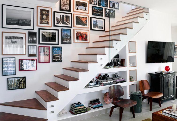Escada casa pequena pesquisa google stairs pinterest for Deco de casas pequenas