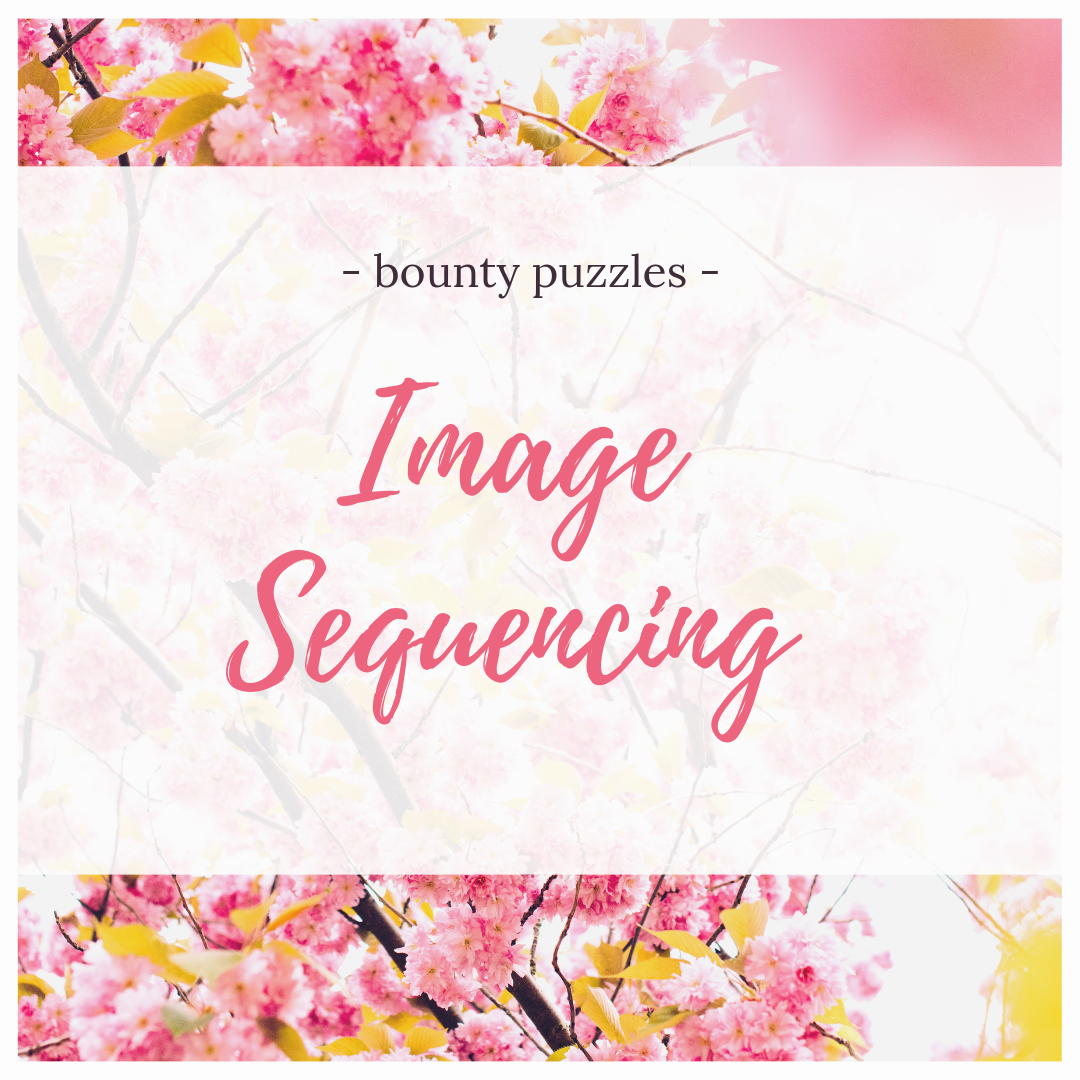 Image Sequencing BOUNTY PUZZLES place images in the
