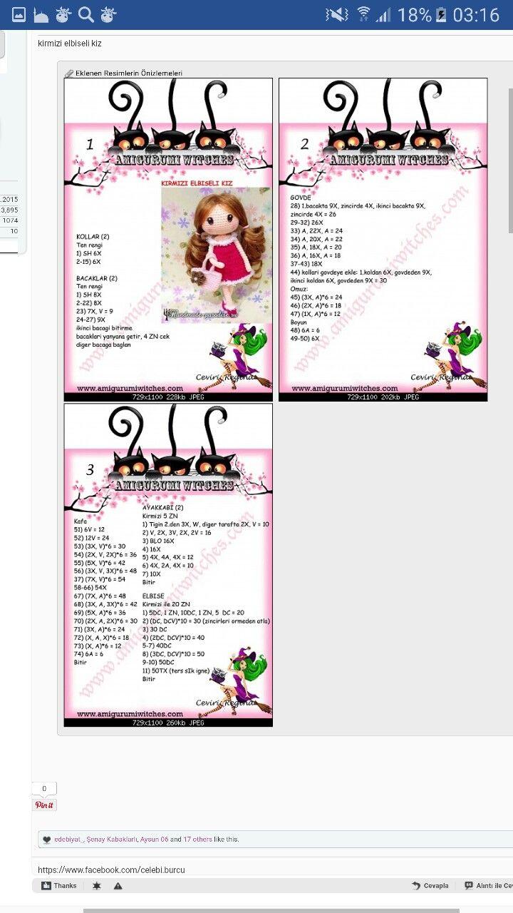 Amigurumi bebek | amigurumi | Pinterest | Patrones amigurumi, Adn y ...
