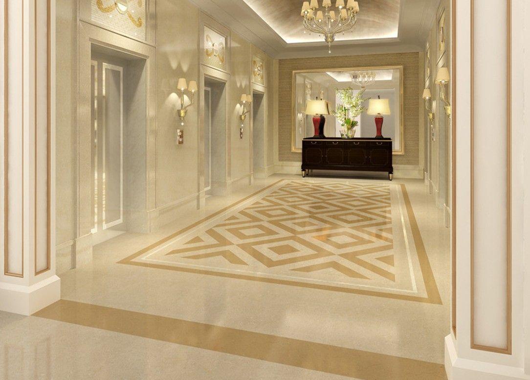 Hotel elevator Hall floor and wall design | lObby dEsIgn | Pinterest ...