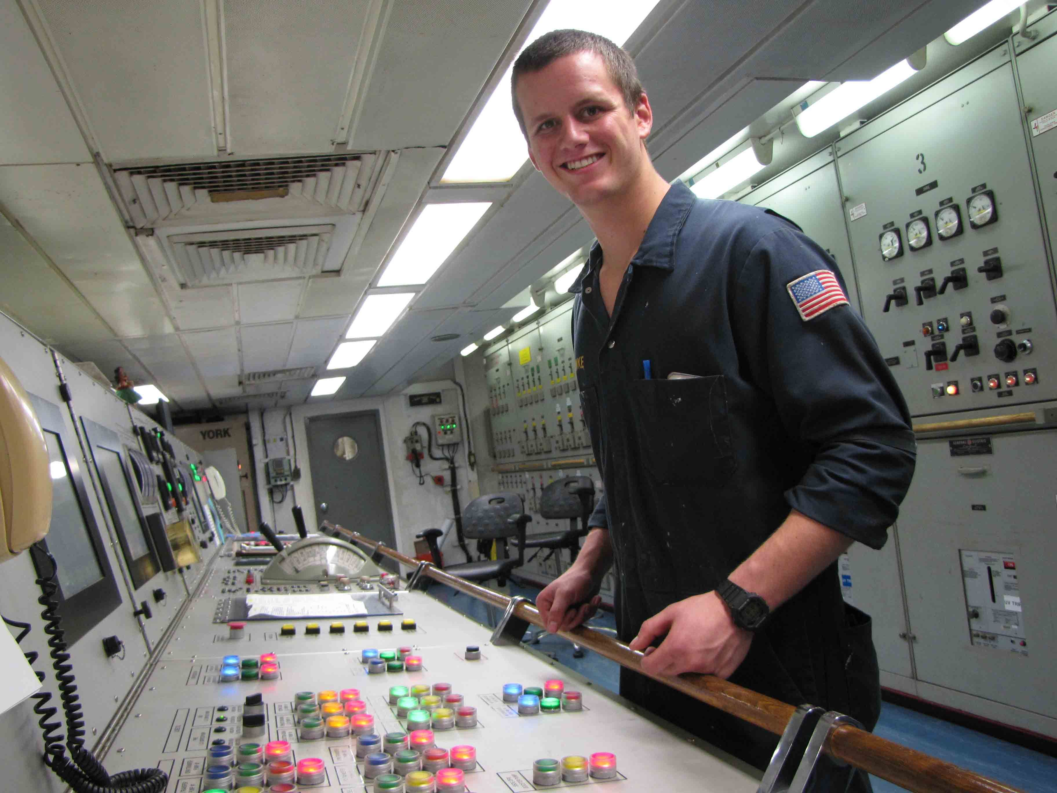 Cadet In Steam Simulator  Naval Vessel    Marine