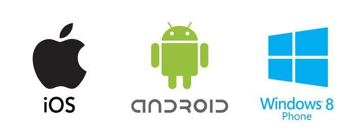 iOS, Android and Windows Phone 8   G R A P H I C / A P P ...