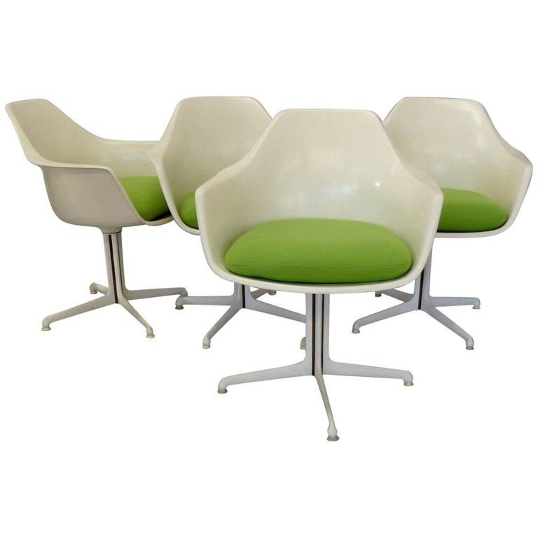 Terrific Four Burke White Fiberglass Swivel Dining Chairs Products Pdpeps Interior Chair Design Pdpepsorg