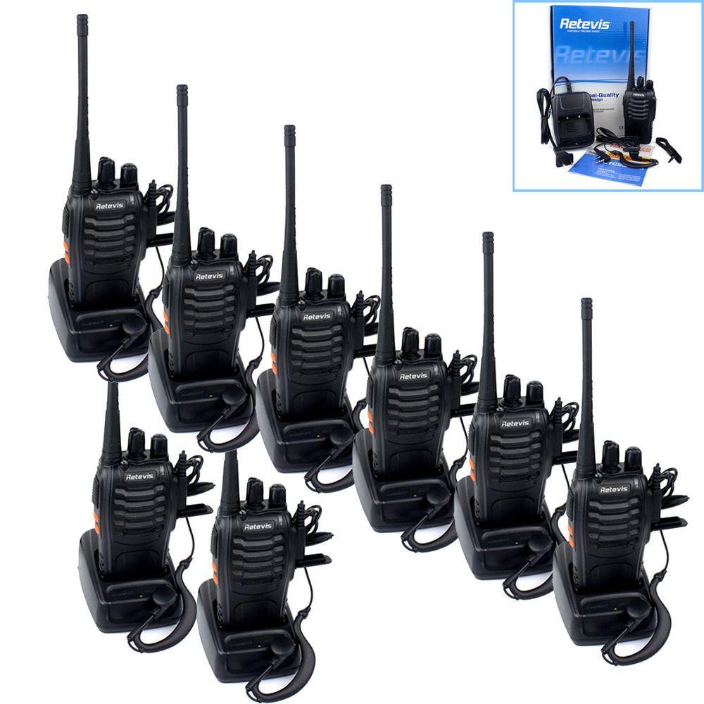 Hot Sale 20pcs Retevis H777 Walkie Talkie UHF 400-470MHz 5W 16CH Two Way Radio