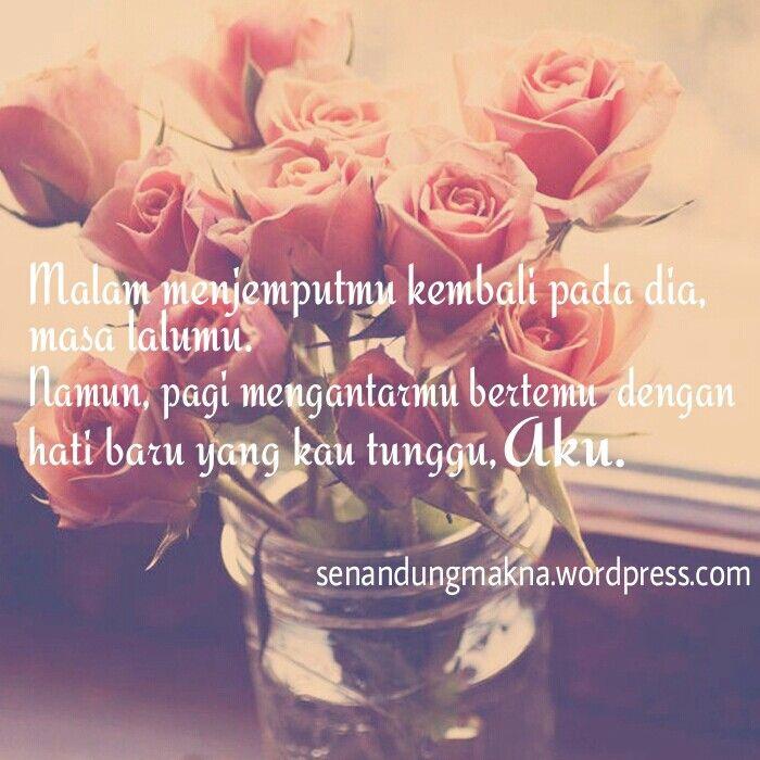 Pagi mengantarmu kepadaku #quotes #puisi #Indonesia