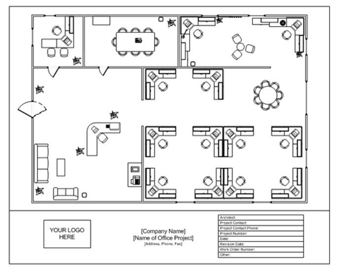 If you are looking for help in designing a room for your office you may want to take a look at the Office Layout Template. It\u0027s free here!