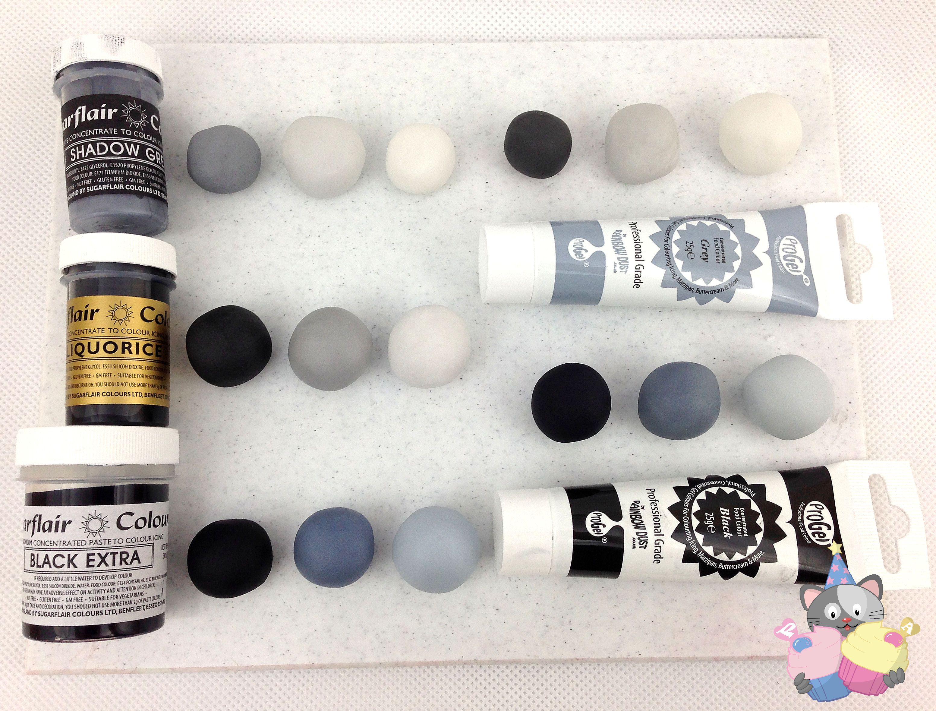 Black Food Colouring, the best of the bunch! | Products Sugarcraft ...