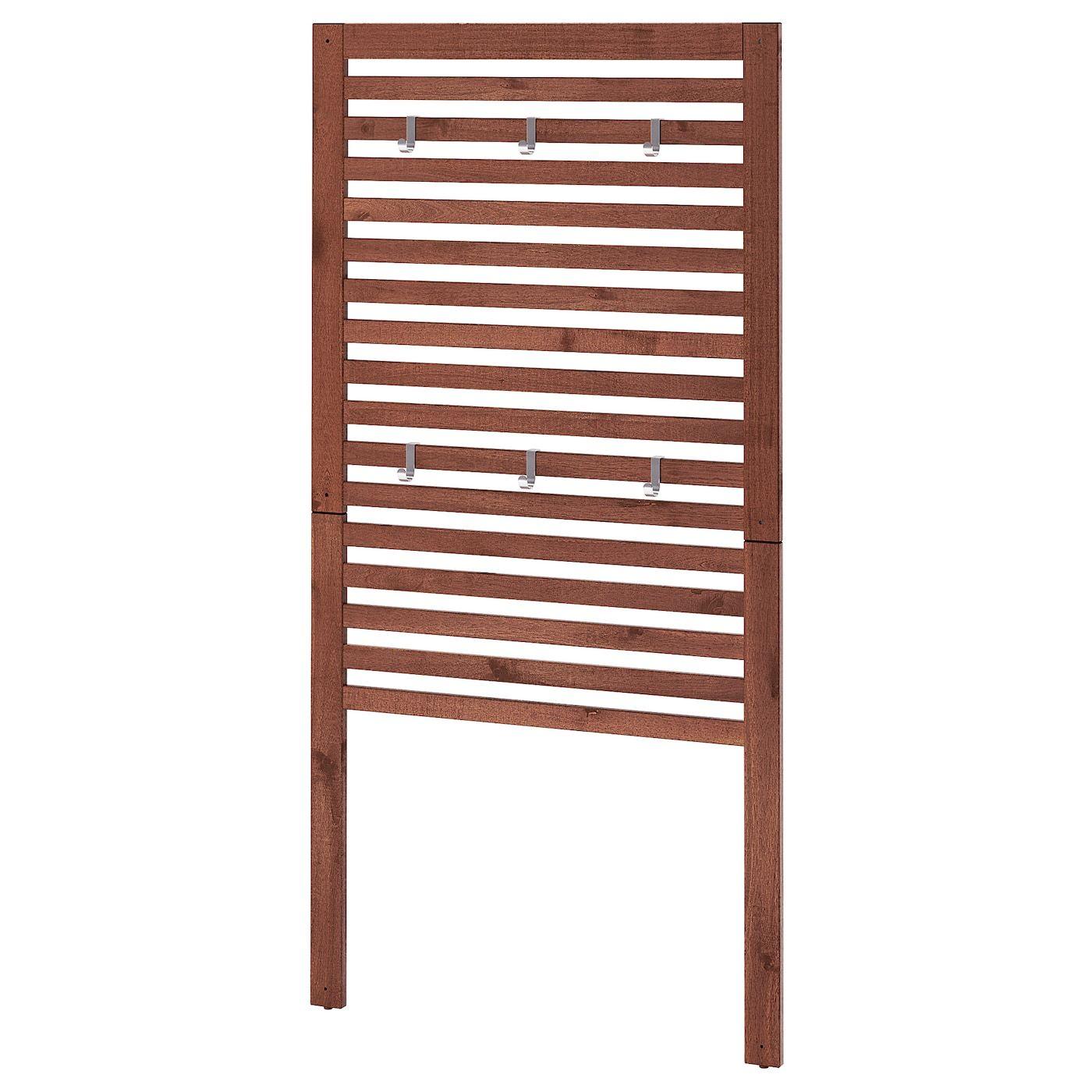 ÄPPLARÖ Wandpaneel/außen braun las. braun IKEA