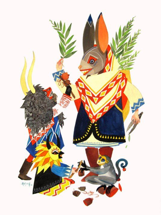 Stacey Rozich illustrations rabbits