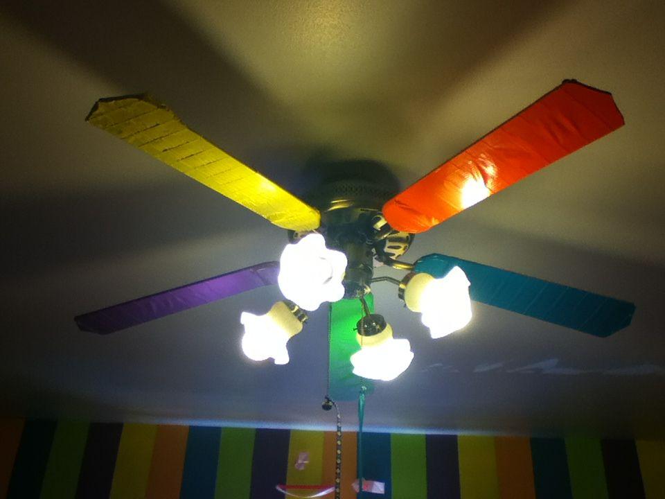 Hampton bay neon ceiling fans harbor breeze urbania ceiling fan hampton bay neon ceiling fans duct tape the fan wings of your ceiling fan the colors aloadofball Choice Image