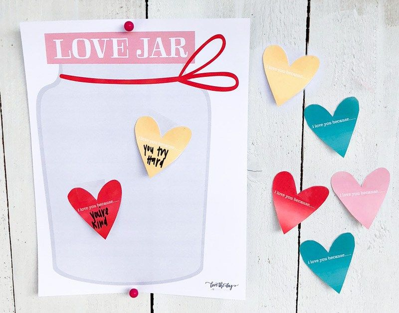 Valentine Activity for Kids & FREE PRINTABLE by Lindi Haws of Love The Day