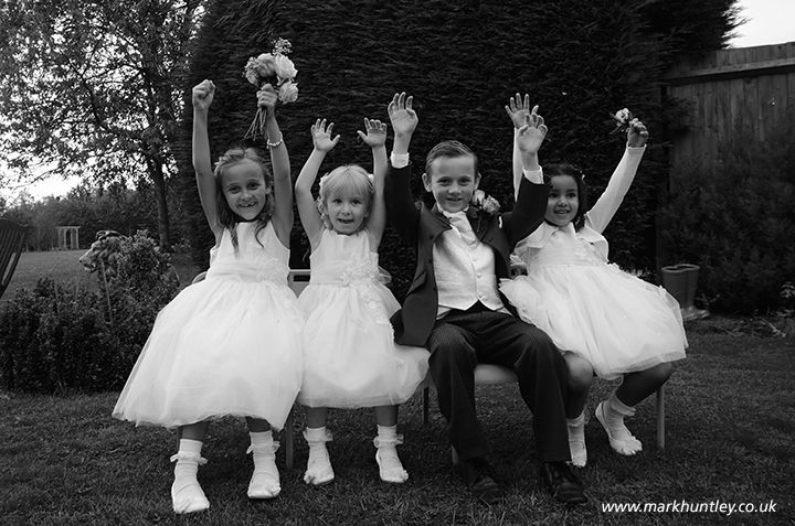 Happy wedding day children. Taken by Mark Huntley Wedding Photography #Eastbourne #EastSussex www.markhuntley.co.uk