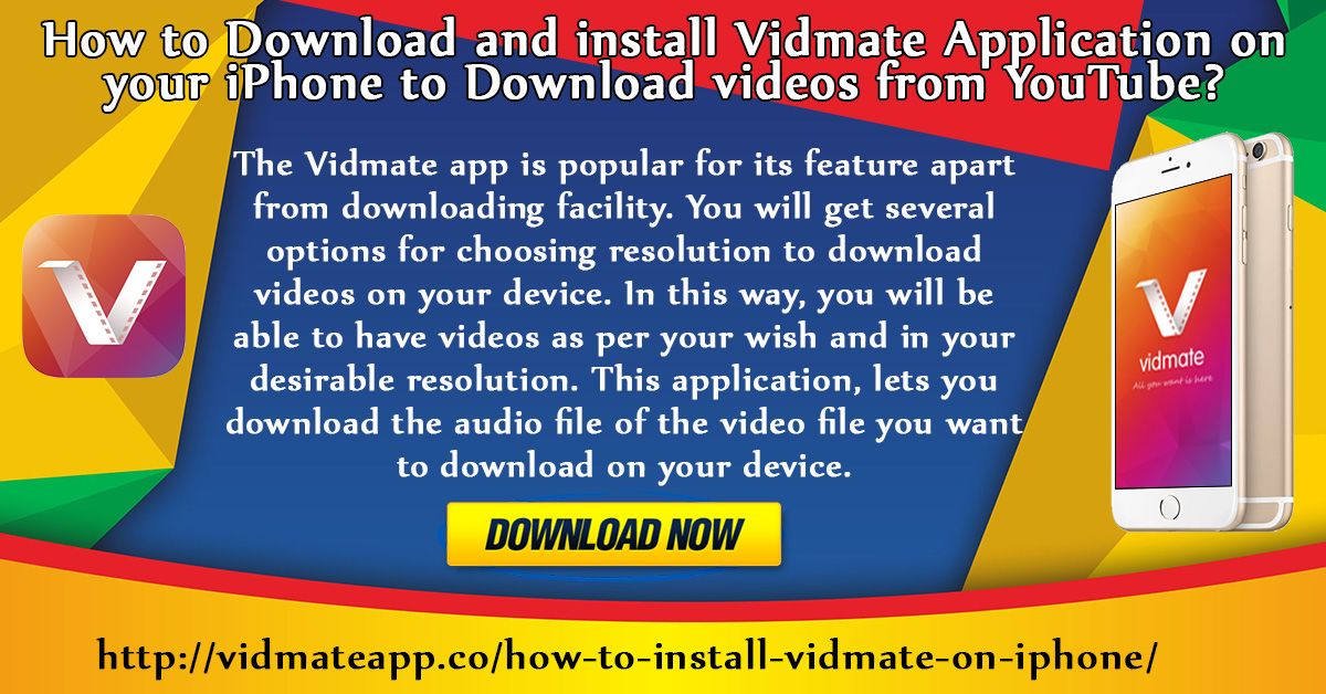 Pin by Vidmate App on How To install Vidmate Application