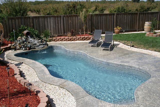 Freeform swimming pool design wish this was yours freeform pool designs pinterest pool - Free form swimming pool designs ...