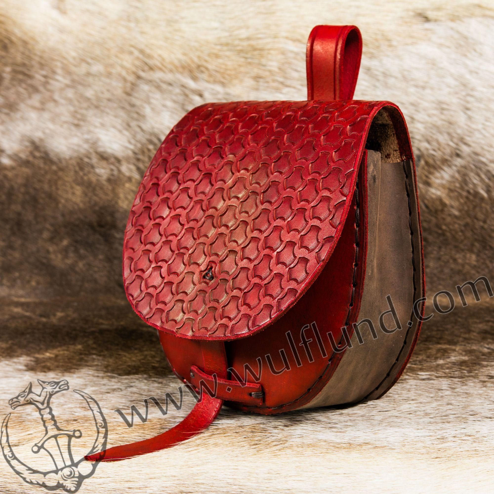 FEYKIR, viking sac, rouge