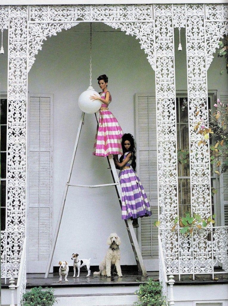 """Annie's Fashion Break: Vogue US 1992/""""Born In the USA"""""""