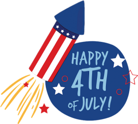 Happy 4th Of July Fireworks Rocket Png Image With Transparent Background Png Free Png Images 4th Of July Fireworks Firework Rocket Happy 4 Of July