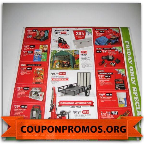 It is a picture of Revered Tractor Supply Coupon Printable