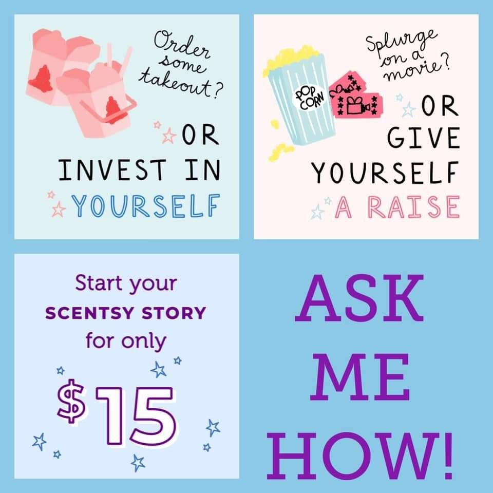 Month Of May Join My Scentsy Team For 15 Plus Tax And