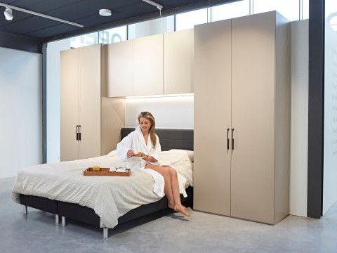 Kleine Slaapkamer Kast : Slaapkamerkast nodig en weinig ruimte? ideaal als je #maatkasten