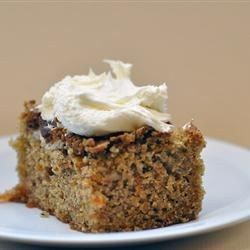 Carrot cake wholemeal flour recipe