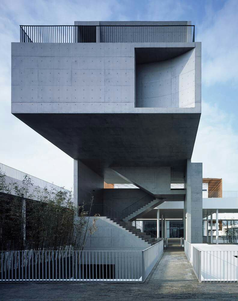 Sturm Und Drang Heimatmuseum Suzhou Moderne Architektur Museen In Der Beton Tafel Diagramme