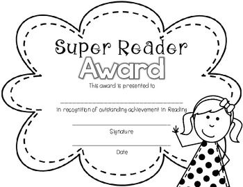 End of Year Awards {Black and White for Easy Printing