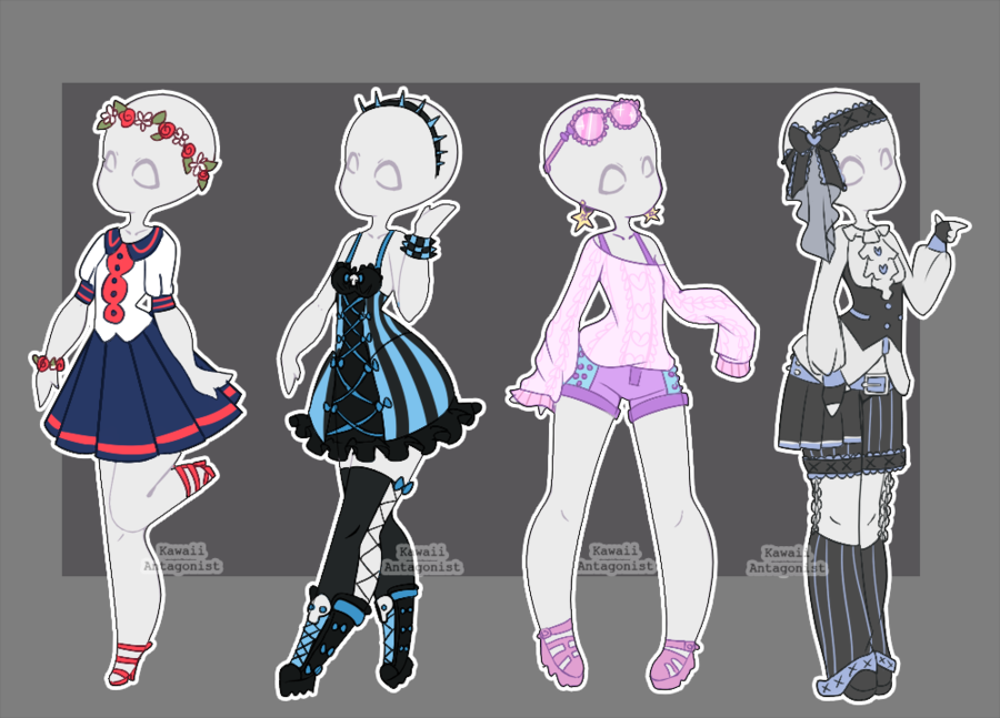 KayzieRaichu GearedUpCutie CMoonToon CMoonToon For a limited time Gacha outfits are still open ...