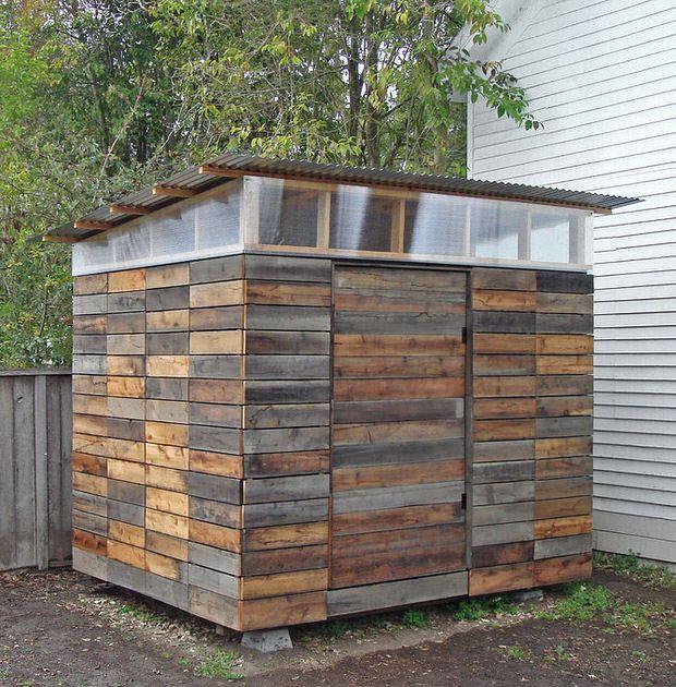 Image result for diy bike sheds pallets Shed storage