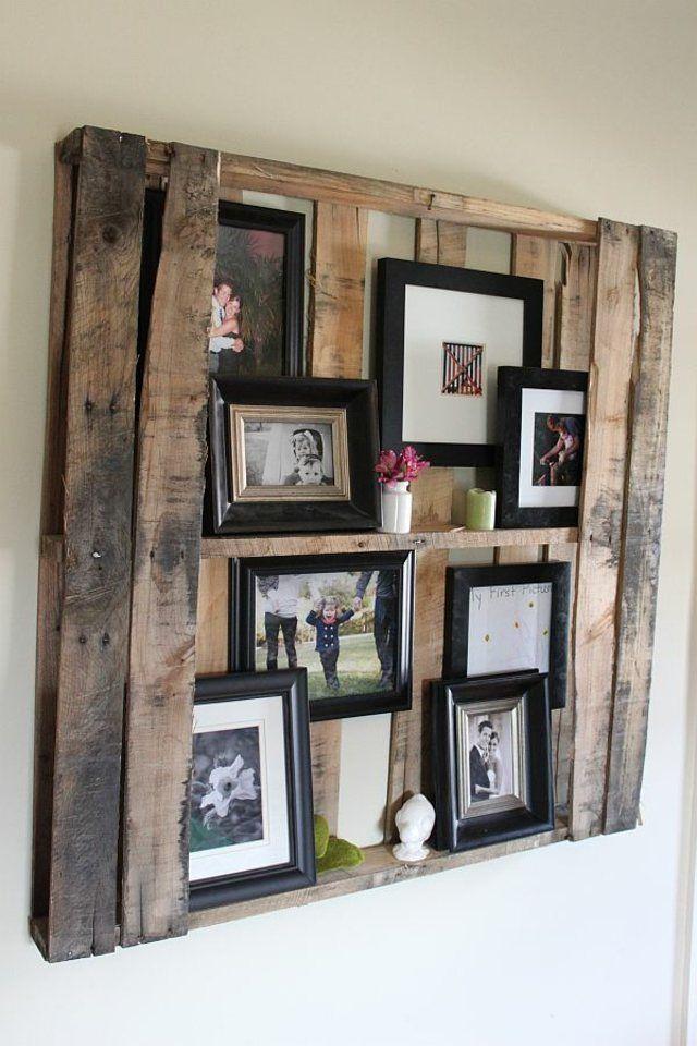 seconde vie aux vieux objets 20 idées de bricolage palette en bois