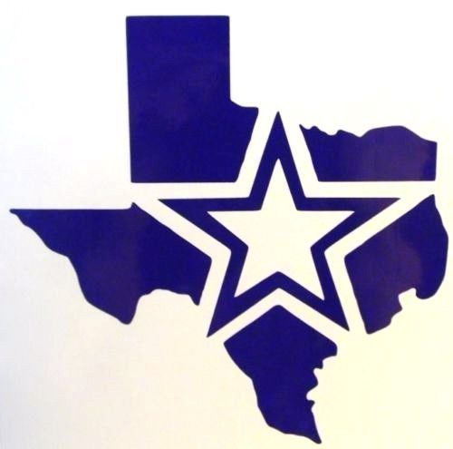 Dallas Cowboys Star Texas Logo Football Car Truck Vinyl Decal Sticker 12 Colors!