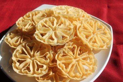 Kembang Goyang Makanan Masakan Indonesia