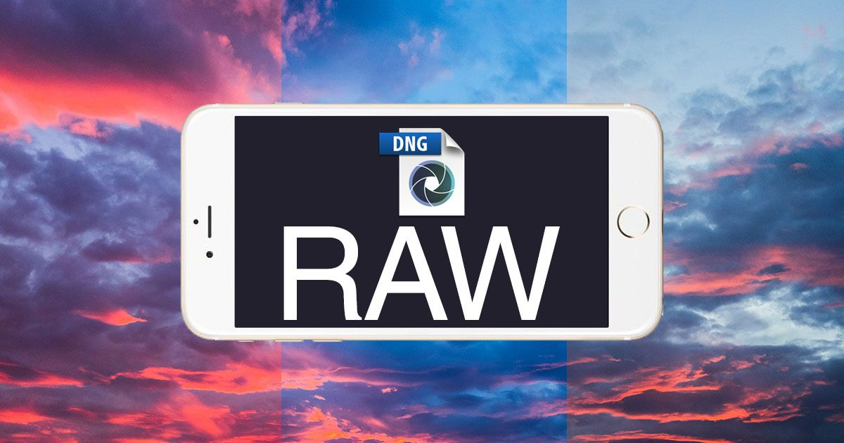 Shoot iPhone DNG RAW Photos Today in the New Lightroom