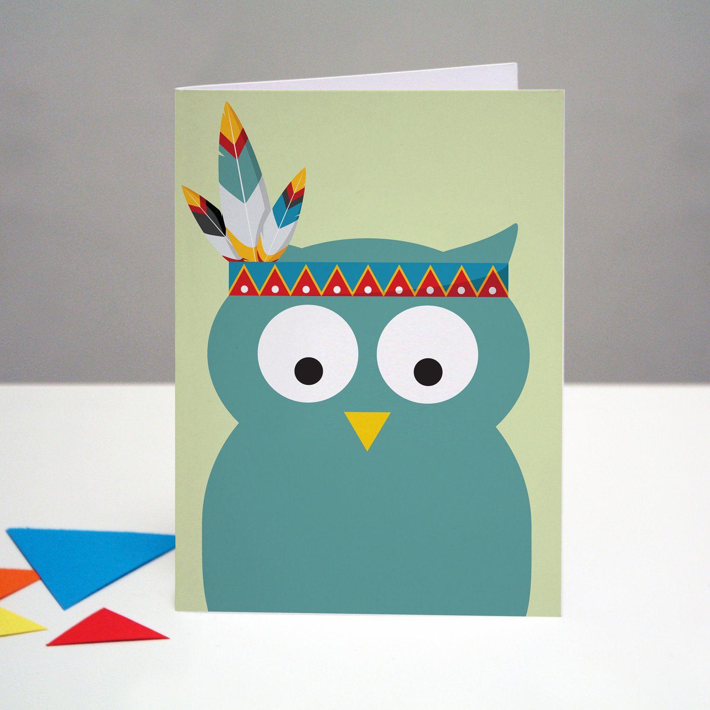 Happy Birthday Owl Card Creativity Pinterest Owl Card Happy