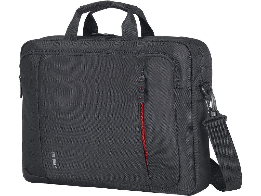 """» Mala ASUS para portátil até 16"""" » Bolsa frontal para acessórios, documentos e outros objectos  www.chiptec.net"""