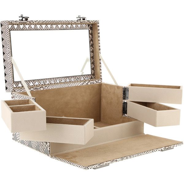 EDDIE BORGO Jewelry box 125205 RUB liked on Polyvore featuring