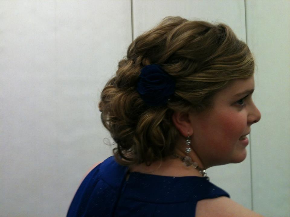 My Homecoming Hair :)